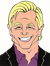 Michael York Cartoon
