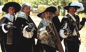 "Micheal York in the ""Four Musketeers"""