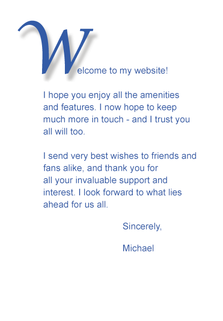 Welcome to the Michael York Web site